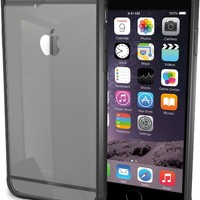 """iPhone 6/6s Case - PureView Clear Case for iPhone 6/6s (4.7"""") by Silk - Ultra Slim Protective Crystal Clear Phone Cover (Midnight Black)"""