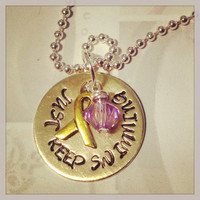 """Talia Castellano """"Just Keep Swimming"""" bracelet/necklace - proceeds to BASEcamp"""