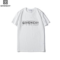 Givenchy New fashion letter print couple top t-shirt White