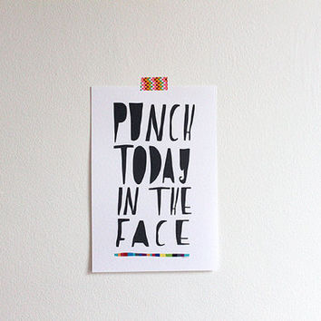 PUNCH TODAY print