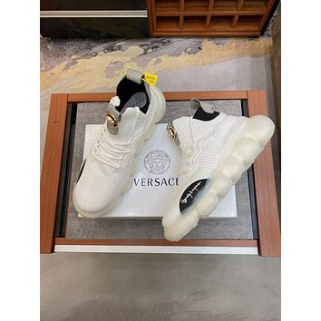 Versace 2021 Men's New Fashion Casual Shoes Sneaker Sport Running Shoes 0510