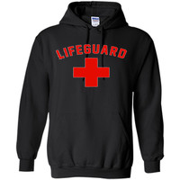 Lifeguard Red & White Certified Swimming Pool T Shirt cool shirt