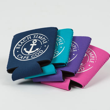 Anchored Collection Koozie - Pink