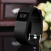 Waterproof Fitness Heart Rate Smart Bracelet Wristband Tracker Bluetooth 4.0 Watch for ios android