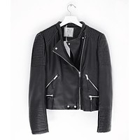 Ride With Me Moto Leather Jacket
