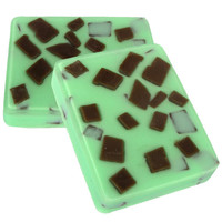Mint Chocolate Chip Soap - All Natural Soap, All Natural Soap, Handmade Soap, Vegan Soap, Food Soap