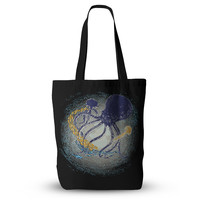 """Frederic Levy-Hadida """"Tentacular Trap"""" Octopus Everything Tote Bag"""