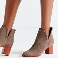Sasha Whip Stitch Suede Ankle Boot | Urban Outfitters
