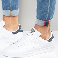 adidas Originals Stan Smith Leather Sneakers M20325 at asos.com