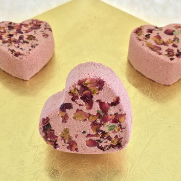 Rose Cocoa Butter Bath Bomb