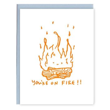 On Fire Card