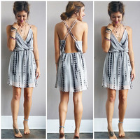 A Grey and Tie Dye Sundress