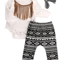 3 Piece Fringe Set