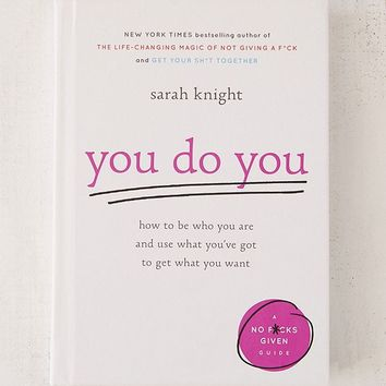 You Do You By Sarah Knight | Urban Outfitters