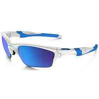 Oakley Flak 2.0 XL Sunglasses OO9188-02 Matte White/Sapphire Iridium NEW
