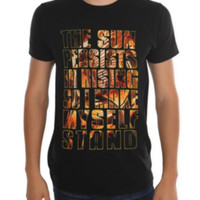 The Hunger Games: Catching Fire Sun Persists T-Shirt