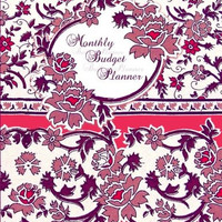 Monthly Budget Planner: Bill Organizer Book with Weekly Calendar & Expenses Tracker ( Large Spacious Softback Notebook * 24 months * for Personal or ... * Floral ) (Budget Planners and Organizers)