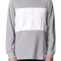 On The Byas Aaron Jersey T-Shirt - Mens Shirt - Gray