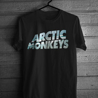 Arctic Monkeys Ocean Tshirt Black