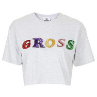 **GROSS CROP TEE BY THE RAGGED PRIEST