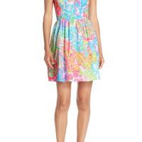 Lilly Pulitzer® 'Ardleigh' Print Cotton Fit & Flare Dress | Nordstrom