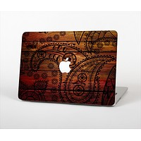 "The Tattooed WoodGrain Skin Set for the Apple MacBook Pro 13""   (A1278)"