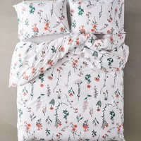 Georgina Stems Duvet Set | Urban Outfitters