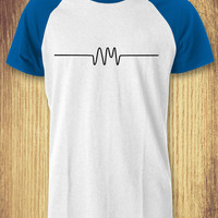 Arctic Monkeys Symbol Baseball Raglan Tee - zLi Unisex Tees For Man And Woman / T-Shirts / Custom T-Shirts / Tee / T-Shirt