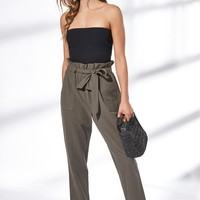 Kendall and Kylie Paperbag Waist Pants at PacSun.com