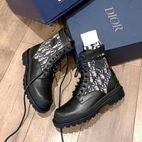 Dior new high recognition locomotive boots
