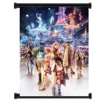 """Final Fantasy XIII 13 Game Fabric Wall Scroll Poster (16""""x21"""") Inches"""