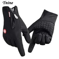 Tnine Gloves TouchScreen Windproof Gloves Mittens Men Women Gloves army guantes tacticos luva winter windstopper tactical gloves