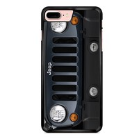 Jeep Wrangler Black iPhone 7 Plus Case