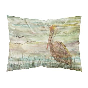 Brown Pelican Sunset Fabric Standard Pillowcase SC2011PILLOWCASE