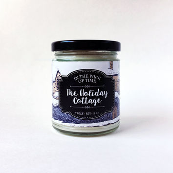 The Holiday Cottage | The Holiday Scented Vegan Soy Candle |
