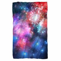 Galactic 3 Fleece Blanket