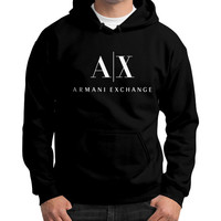 Armani Exchange Armani Exchange Gildan Hoodie (on man)