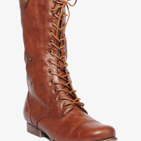Fold-Over Combat Boots
