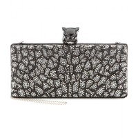roberto cavalli - embellished box clutch