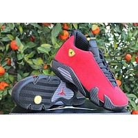 kaat -Air Jordan 14 Retro 'FARRARI'