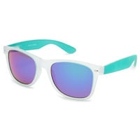 Blue Crown Frost Classic Sunglasses Blue Combo One Size For Men 23298724901
