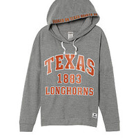 University Of Texas Crossover Pullover Hoodie - PINK - Victoria's Secret