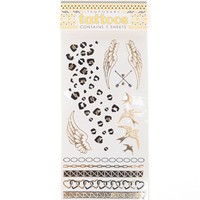 With Love From CA Modern Aztec Flash Tattoo Set - Womens Scarves - Gold - NOSZ
