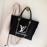 LV Louis Vuitton ADIDAS canvas print letters ladies shopping handbag shoulder bag