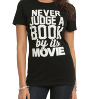 Never Judge By Movie Girls T-Shirt