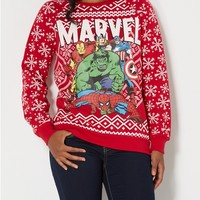 Merry Marvel Holiday Sweatshirt