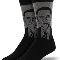 Barack Obama Men's Crew Socks - LAST PAIR!