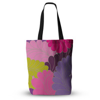 """Nicole Ketchum """"Moroccan Leaves"""" Everything Tote Bag"""