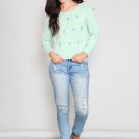 Sugarhill: Pineapple Crush Sweater
