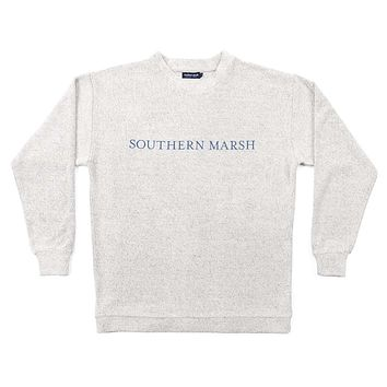Sunday Morning Sweater in Oatmeal by Southern Marsh